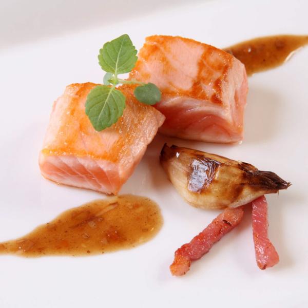 Cubo di salmone